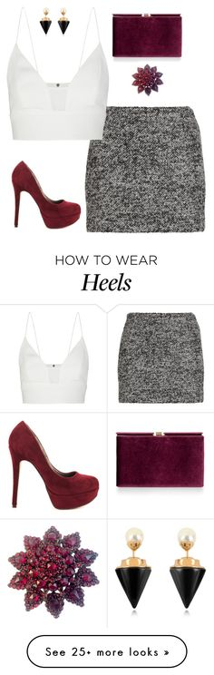 """Untitled #732"" by lauraafreedom on Polyvore featuring Diane Von Furstenberg, Monsoon, Narciso Rodriguez, Vita Fede and Michael Antonio"