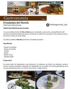 """Conoce las """"Ensaladas del Mundo"""" de la mano del Chef Juan Carlos Acosta de @postresgourmet_vzla en la Edición Septiembre 2017 de nuestra Revista Digital Publiciudadmcy.  Sigue el Link en nuestra BIO.  #publiciudadmcy #gastronomia #recetas #chef #ensaladas #publicidad #maracay #colombia #españa #mexico #republicadominicana #ecuador #honduras #miami #argentina #peru #panama #caracas #merida #valencia #emprendedores #venezuela"""