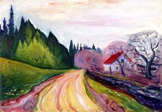 The Road to Borre Edvard Munch - 1905