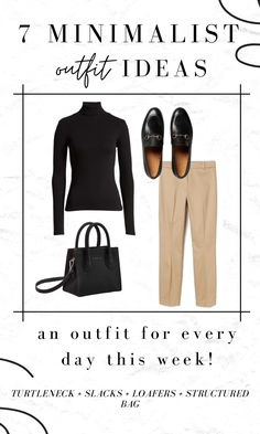 Classic Outfits, Casual Outfits, Classic Style, Minimal Wardrobe, Minimal Outfit, Office Outfits, Work Outfits, Chic Office Outfit, Paris Outfits