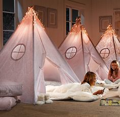 Beautiful Play Tents