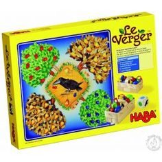 HABA - Erfinder für Kinder - 3103 The Orchard - Families' games - Games - Toys & Furniture Kids Toys Online, Cooperative Games, Family Board Games, Apple Pear, Coffee And Books, Delicious Fruit, Fruit Trees, Games For Kids, Kid Games