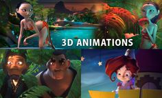 11 Beautiful 3D Animations and 3D Short films for your inspriation. Follow us www.pinterest.com/webneel