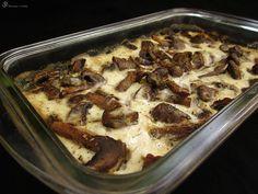 Pecene houby lineho kuchare
