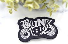 BLINK 182 Musik Eisen auf Patch von RetroMusicPatches auf Etsy