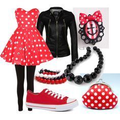 retro minnie mouse - cutest halloween costume ever?