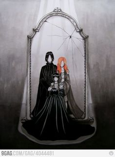 what Snape sees in the Mirror of Erised