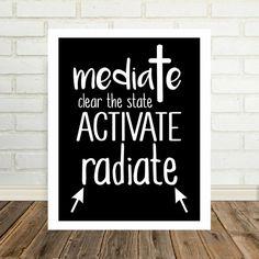 Mediate INXS Song Lyric Art Music Poster Print by DefineDesignEtc