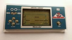 Jeu Lcd Nintendo Game & Watch / CRYSTAL SCREEN / SUPER MARIO BROS in Jeux vidéo, consoles, Jeux | eBay