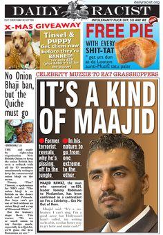 Maajid Nawaaz Joins I'm a Celebrity... www.dailyracist.org