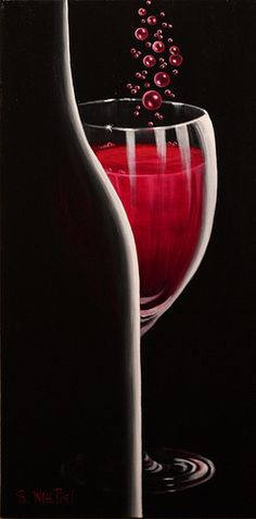 """""""R.S.V.P. Requested"""" 24x12 Acrylic ©Sandi Whetzel. (Sold to private collector)"""