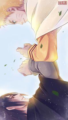 Naruto & Sasuke T^T #naruto