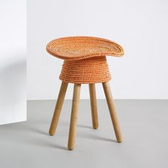 Shop for Umbra Shift Harry Allen Coiled Low Stool at Panik Design. A licensed Umbra Shift retailer, the UK's largest independent stockist of design. Traditional Baskets, Tractor Seats, Low Stool, Dining Room Bar, Rattan, Bar Stools, Hand Weaving, Contemporary, Wood