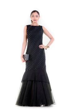 #blackcolor #designer #georgette #gown #partywear #eveningdress #womenswear #kalaniketan #mumbai #weddingoutfit #weddingparty #worldwideshipping #uk #us #uae #france