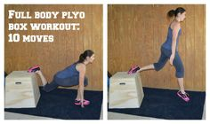Get a full body workout with nothing but a plyo box Gone Sporty TM (Diy Box Jump) Workout Log App, Box Jump Workout, Park Workout, Love Fitness, Fitness Tips, Fitness Workouts, Boxing Fitness, Crossfit Bootcamp, Plyo Box