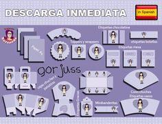Kits de Fiesta en Español - Página 2 de 2 - Descarga increíbles Kits de Fiesta en Español listos para imprimir en tu casa o imprenta profesional. Crea tus propias fiestas temáticas! Susaneda's Printables