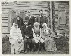 Shemeikan perhe 1907, kuva Samuli Paulaharju