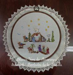 Resultado de imagen para pesebres de botones Nativity Crafts, Xmas Crafts, Crafts For Kids, Diy Crafts, Christmas Jesus, Christmas Nativity, Christmas Cross, Christmas Sewing, Christmas Diy