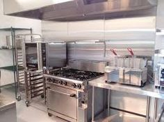 Resultado de imagen para small commercial kitchen design double deep fry char grill