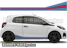 peugeot 207 gti racing stripe decals | 20 best peugeot car & van