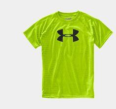 Boys' UA Tech™ Embossed Big Logo T-Shirt