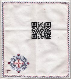 """I don't use my QR reader very much. Try this one ;) for """"Lou"""" the dog."""