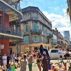 """""""There's certain things in life that I love. One is architecture. And music, culture, food, people. New Orleans has all of that."""" - Lenny Kravitz"""