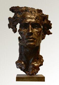 Christophe CHARBONNEL - Orphee Fantastic work of art ,truelly amazing masterpieces ! Human Sculpture, Bronze Sculpture, Art Moderne, Vanitas, Art Plastique, Clay Art, Oeuvre D'art, Ceramic Art, Amazing Art