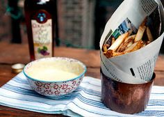 Best fries ever...with mayo.