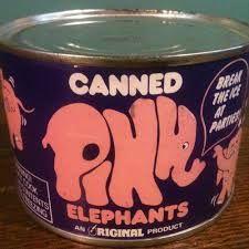 Vintage Pink Elephant Novelty Pink Elephant, Vintage Pink, Dog Bowls