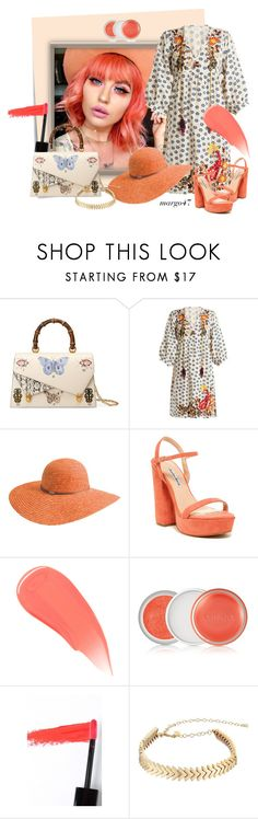 """""""koniec lata"""" by margo47 ❤ liked on Polyvore featuring Post-It, Gucci, Velvet by Graham & Spencer, Betmar, Charles David, Burberry, Clinique, Lapcos and Rebecca Minkoff"""