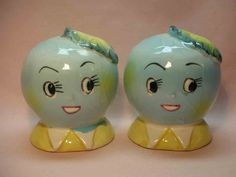 Members Only – Novelty Salt & Pepper Shakers Club Salt N Pepper, Salt Pepper Shakers, Cow Creamer, Pineapple Upside, Family Reunions, Vintage Avon, Displaying Collections, Retro Toys, Sugar And Spice