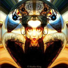 'Keep Me From Harm' Metal Print by Heather King Framed Prints, Canvas Prints, Art Prints, Heather King, Mirror Art, Art Photography, Throw Pillows, Metal, Anime