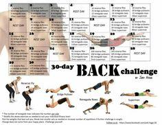 30 day back challenge