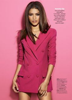 Zendaya by James White for Cosmpolitan Magazine July 2016