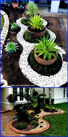 Strategy, tricks, also manual in pursuance of getting the most effective result … – diy garden landscaping Front Garden Landscape, Garden Paving, Front Yard Landscaping, Landscape Design, Landscape Rocks, Landscaping Ideas, Outdoor Landscaping, Garden Yard Ideas, Backyard Garden Design