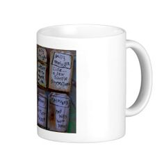 recovery collage coffee mugs