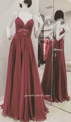 Prom Dress A-line Long 8th Graduation Dress Custom-made School Dance Dress  YDP0656