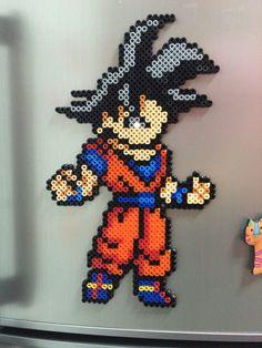 Hama beads Goku
