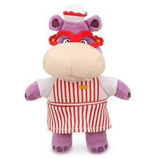 "Disney Beanie Hallie the Hippo 8"" Plush Toy from Doc McStuffins"