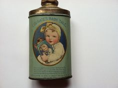 Antique Colgate's Baby Talc, 1909.