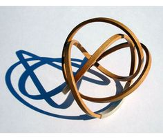 Mette Jensen - bangle in wood and silver