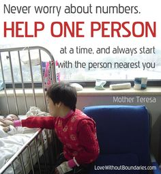 Help one person  #quotes