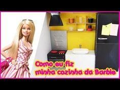 Oi Pessoal tudo bem? Chegou a hora de construir o banheiro da nossa casa da Barbie. Para você que está chegando agora e não viu os outros vídeos, depois dá u...