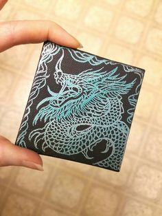 Miniature asian dragon art drawing. About 20 min. sketch session on canvas. Art by Sherrie Thai of ShaireProductions.com