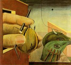 1922 Oedipus Rex    Max Ernst is one of my favourite German artists and he was born in Brühl. My high school was called Max-Ernst-Gymnasium too..maybe that influenced me a bit..