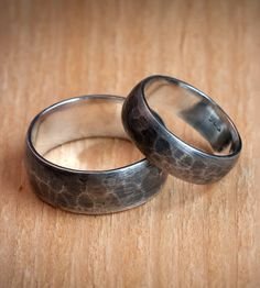 Hammered Sterling Silver Ring | Men's Accessories | Silver Piston | Scoutmob Shoppe | Product Detail