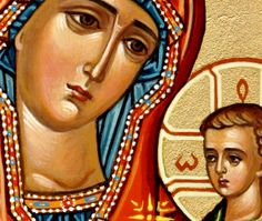 """""""If anyone says that the Holy Glorious Ever-Virgin Mary is falsely but not truly the Mother of God; or (is the Mother of God) according to relation, as if a mere man were born, but not as if the Word of God became incarnate [and of her] from her, but the birth of the man according to them being referred to the Word of God as being with the man when he was born, and falsely accuses the holy synod of Chalcedon of proclaiming..."""" (Canon 6, 5th Ecumenical Council, Constantinople 553 - link)"""