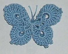 Ravelry: 3-D Butterfly pattern by April Moreland
