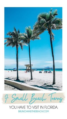 If you're looking for a low key beach getaway in Florida check out these small towns: Hollywood Beach, Indian Rocks Beach, Jupiter, Longboat Key, Marco Island, Melbourne Beach, and Siesta Key. Family Vacation Destinations, Florida Vacation, Florida Travel, Florida Beaches, Melbourne Beach Florida, Hollywood Beach Florida, Indian Rocks Beach, Longboat Key, Siesta Key